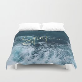 Spirit Lead Me Duvet Cover