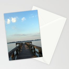 Saturday on the River Stationery Cards