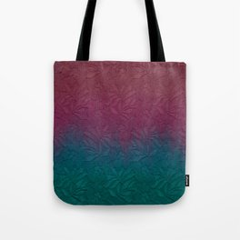 Gable green navy blue burgundy lace gradient Tote Bag