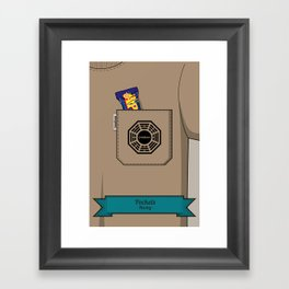 Pockets - Hurley - Framed Art Print