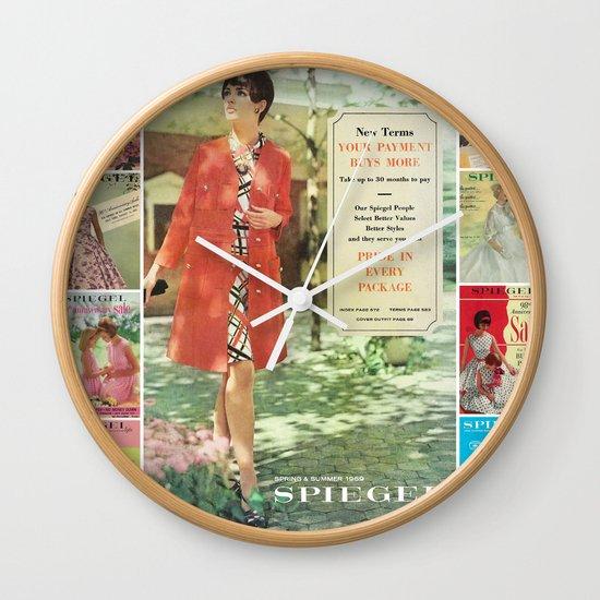 1969 - Spring SUmmer Catalog Cover Wall Clock