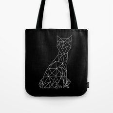 Eleven Quads Cat Tote Bag