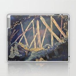 The Healing Crystal cave Laptop & iPad Skin