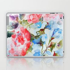 Peonies and Morning Glory Laptop & iPad Skin
