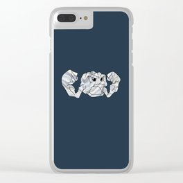 Geode Dude Clear iPhone Case