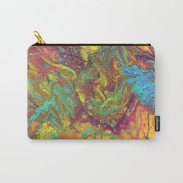 Acrylic Pouring #5 Carry-All Pouch