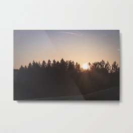That warm summer glow Metal Print