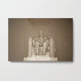 Lincoln Memorial :: Washington DC Metal Print