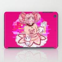 madoka magica iPad Cases featuring Madoka Kaname by Olivia Dierker