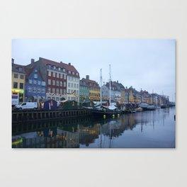 Nyhavn Copenhagen 2 Canvas Print