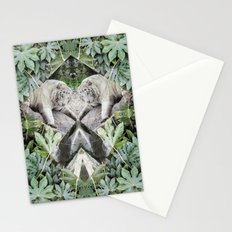 The Snow in the Jungle Stationery Cards