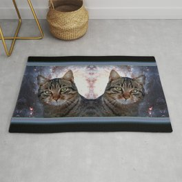Cats in Space Rug