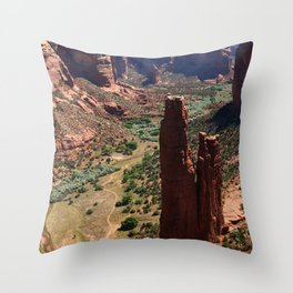 Spider Rock - Amazing Rockformation Throw Pillow