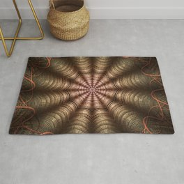 The Fabric Of The Space-Time Continuum Rug