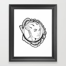 Mass Effect. Liara T'soni Framed Art Print