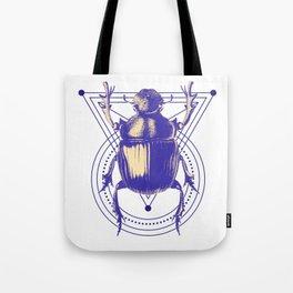 Beetle and geometric Tote Bag
