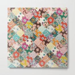 sarilmak patchwork Metal Print