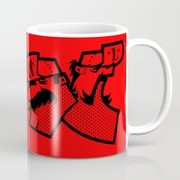 mario bros Mugs featuring Mario & Luigi - BROS by La Manette