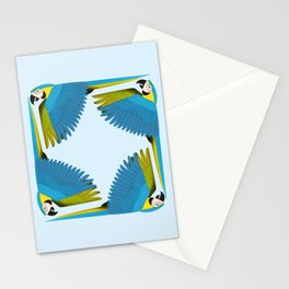 Parrots - Macaw Stationery Cards