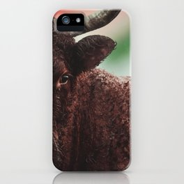 Yak in colors iPhone Case