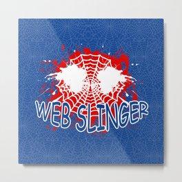 Web Slinger Metal Print