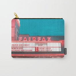 Fairfax red Carry-All Pouch