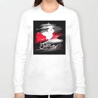 sparrow Long Sleeve T-shirts featuring sparrow by tatiana-teni