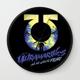 Ultramarines Wall Clock