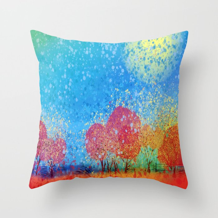Sunshine Throw Pillow