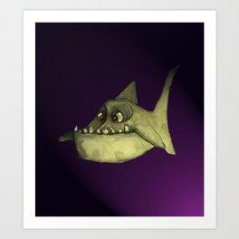 Piranha (flash lite) Art Print