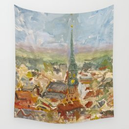 The First of May in Rīga, Latvia Wall Tapestry