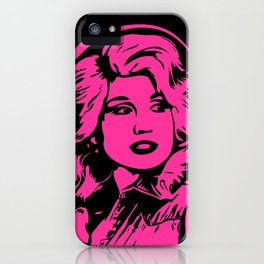 Hot Pink Dolly | Pop Art iPhone Case