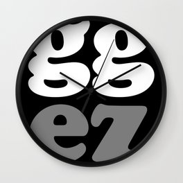 gg ez Wall Clock