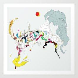 迦久 - KAKU Art Print