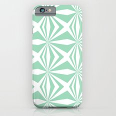 Mint Starburst #3 iPhone 6s Slim Case
