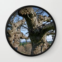 OLD APPLE TREE Wall Clock