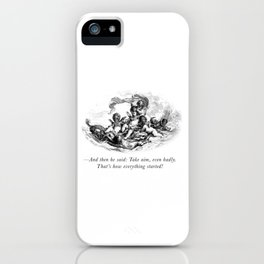 A Love Story iPhone Case