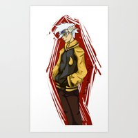 soul eater Art Prints featuring Soul Eater by Alex Moriarty