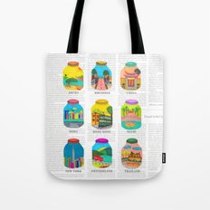 Travel with Colors Tote Bag