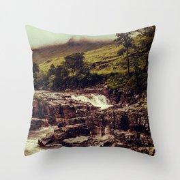 SCOTLAND / Glen Etive, Highlands / 03 Throw Pillow