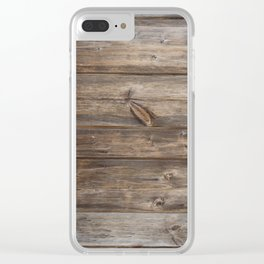 Wood texture - wooden background 2 Clear iPhone Case