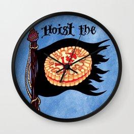 Hoist the Jolly Roger Jammie Dodger Wall Clock