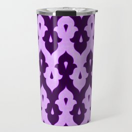 Mauresque Counterchange (Lilac) Travel Mug