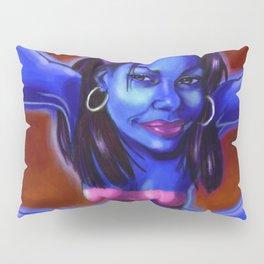 She's Blue Pillow Sham