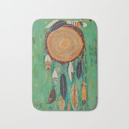 """Dream catcher"" Bath Mat"