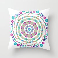 chemistry Throw Pillows featuring Chemistry fun by Mi Nu Ra
