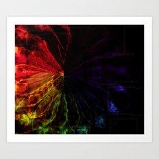 Prism Flower Art Print