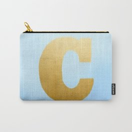 """Cup series - gold - """"C"""" Carry-All Pouch"""