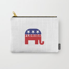 Florida Republican Elephant Carry-All Pouch