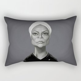 Eartha Kitt Rectangular Pillow